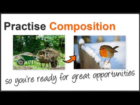 Photography Tips: Composition can be practised anywhere
