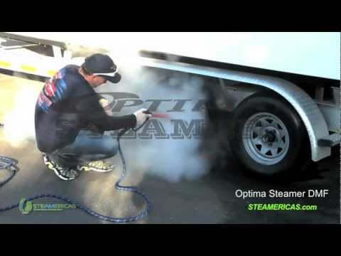 Optima Steamer - steaming many different surfaces safely