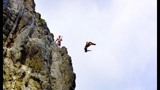 Crashing My Drone While Cliff Jumping in Hawaii!