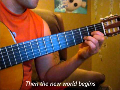 White Lion--When the Children cry (guitar cover with lyrics)