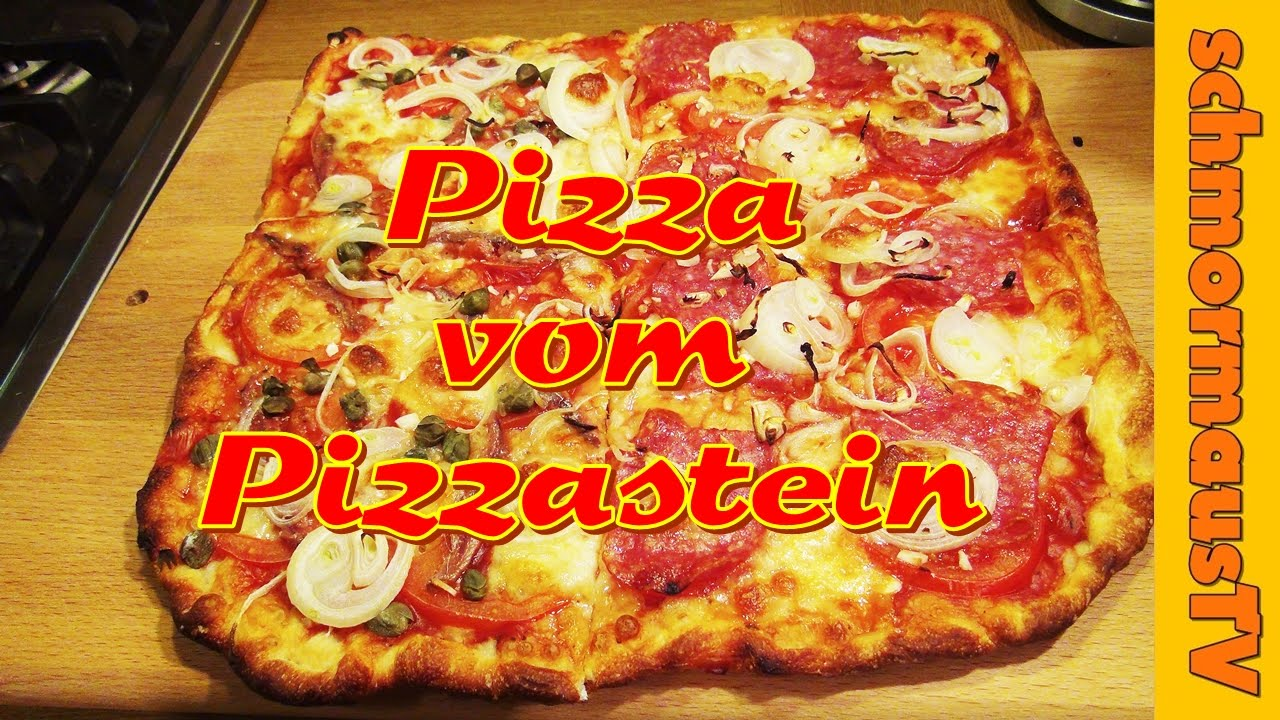 Pizzastein Aldi Anleitung Gasgrill : Pizza vom pizzastein im gaskugelgrill outdoorchef roma backen youtube