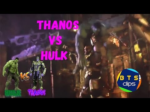 Avengers Infinity War - Thanos Vs Hulk thumbnail