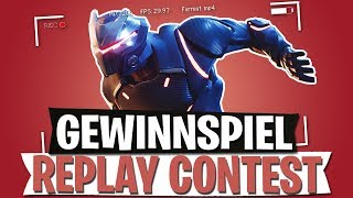 GEWINNSPIEL & REPLAY CONTEST | V-BUCKS + HEADSET | FORTNITE BATTLE ROYALE