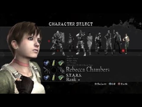 Resident Evil 5 Mercenaries United All Characters And Weapons
