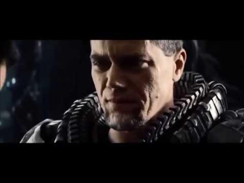 Clark Kent meets General Zod