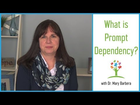 What is Prompt Dependency? - Prompting & Prompt Fading in Children with Autism
