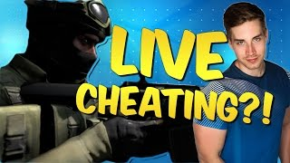 CHEATING LIVE?! CS GO Stream Montage #29