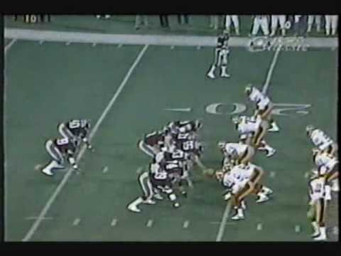 Michigan Panthers Touchdown: Bobby Hebert to Anthony Carter