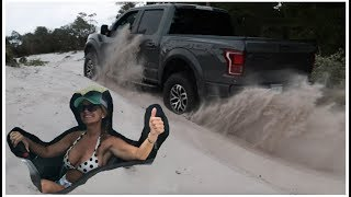 Finally OFF-ROADING in the Ford Raptor! My WIFE does it better than me!?