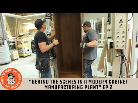 """Behind The Scenes In A Modern Cabinet Manufacturing Plant"" Ep 2"
