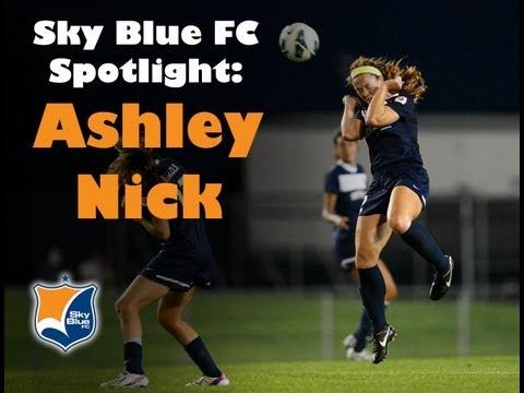 Sky Blue FC Spotlight - Ashley Nick