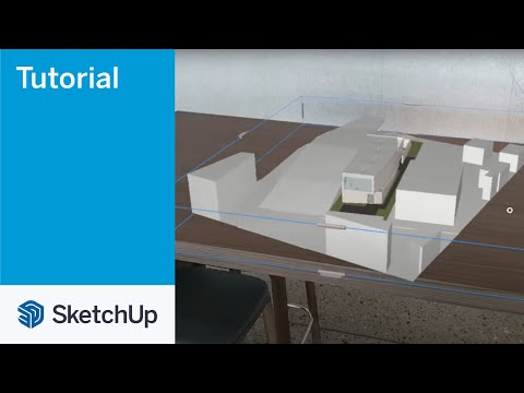 SketchUp Viewer for Hololens 2 06 Move