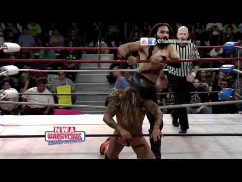 Johnny Yuma Vs. Ray Rosas - NWA Hollywood (HD) (6/10/12)