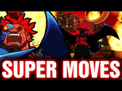 Marvel Super Heroes Vs Street Fighter All Hyper Super Moves Combos Arcade