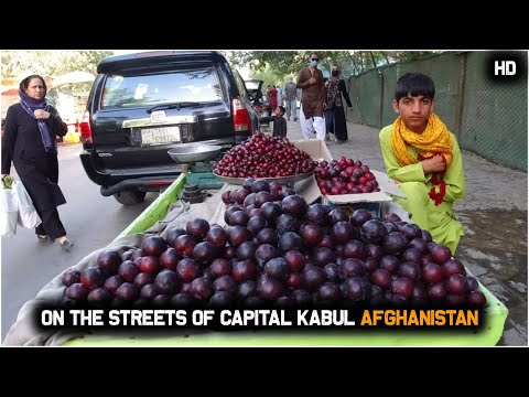 On The Streets Of Capital Kabul Afghanistan | Street view | Street food | HD | 2020