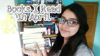 Books I Read in April 2018 ( you should read em too)