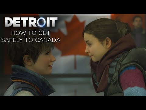 Detroit: Become Human - How to Cross the Border Safely to Canada with Everyone Alive