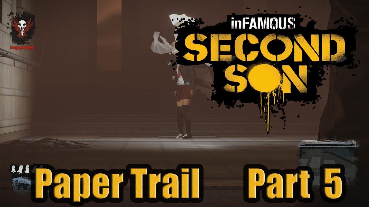 Infamous paper trail part 5 dos help