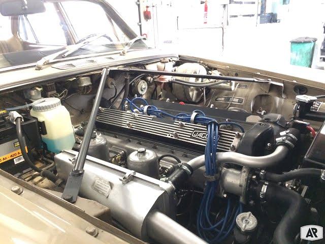 Jaguar XJ Serie 1 2.8L - Engine Start!