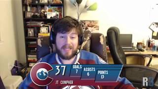 Avalanche Review Game 37: Avs 4, Maple Leafs 3 OT, Rudo 1, Dangle 0