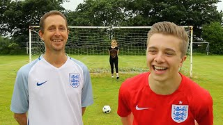 THE BEST EVER EURO GOALS RECREATION BATTLE VS MY DAD thumbnail