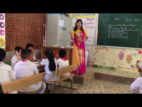 Phương pháp bàn tay nặn bột môn khoa học lớp 4 trường tiểu học thị trấn Mường Xén