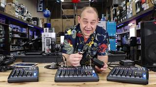 Right size Audio Mixer for You With USB, Bluetooth, MP3, and Record built-in. audio mixer tutorial
