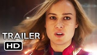 CAPTAIN MARVEL Official Trailer 2 (2019) Brie Larson Marvel Superhero Movie HD