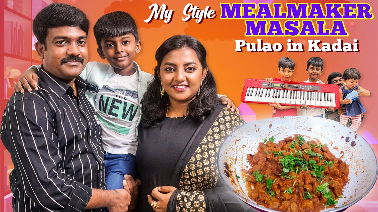Fullday Vlog   My Style Meal Maker Masala   Kadai Pulao   Giveaway Winners   Karthikha Channel Vlog