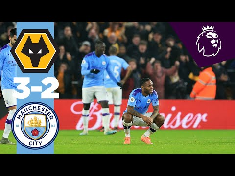 HIGHLIGHTS | WOLVES 3-2 MAN CITY | STERLING, TRAORE, JIMENEZ, DOHERTY