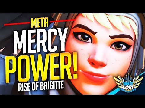 Overwatch - Mercy POWER! The Rise of Brigitte! (SUPPORT Meta)