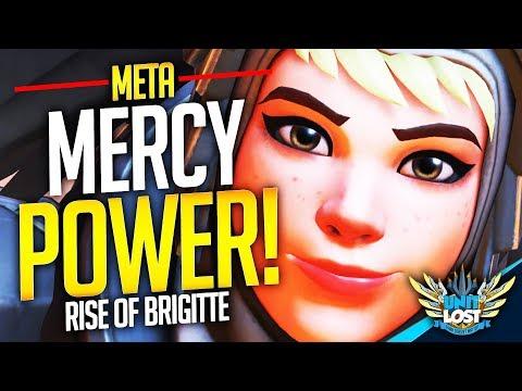 Overwatch - Mercy POWER! The Rise of Brigitte! (SUPPORT Meta)