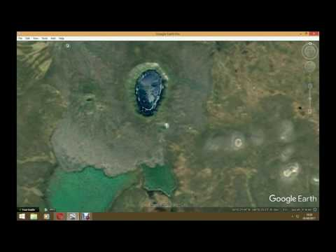 Possible extraterrestrial beings found on Google Earth 2017