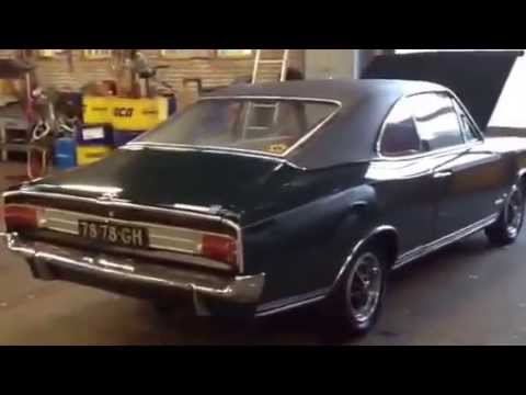 1969 opel commodore gs coupe after restauration. Black Bedroom Furniture Sets. Home Design Ideas