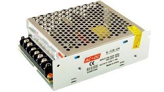 Импульсный блок питания S-120-24 (24V 5A 120W) с Aliexpress (Power Supply)(, 2015-11-22T12:42:46.000Z)