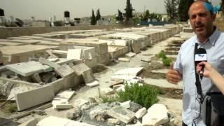 Destruction and Tomb Burning on Mount of Olives
