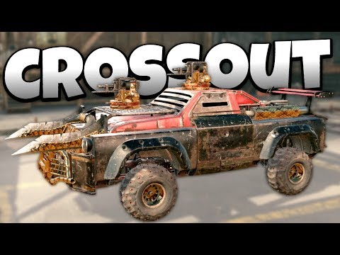 Crossout - The Best Truck Build Ever! -  Crossout Open Beta Gameplay