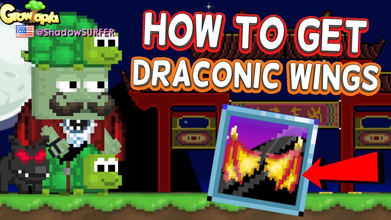 how to get free wings in growtopia