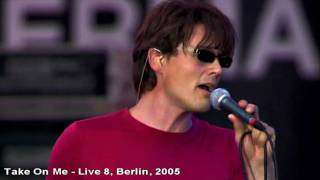 A-ha - Take On Me - Live 8, Berlin - 2005 [HD](A-ha - Take On Me - Live 8, Berlin - 2005., 2011-04-30T12:19:54.000Z)