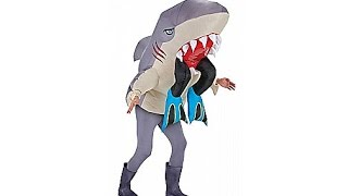 Inflatable Shark Adult Costume - NEW FOR 2015