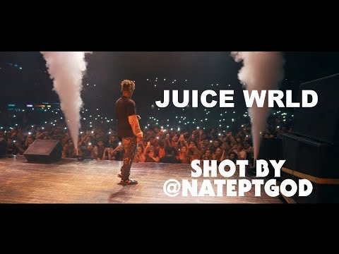 Juice WRLD Pays Tribute To XXXTENTACION Live [Shot By @NatePTGOD]