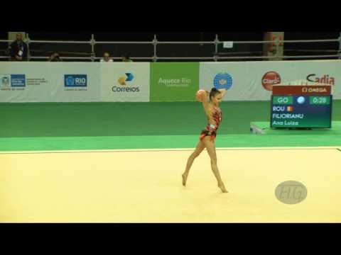 FILIORIANU Ana Luiza (ROU) - 2016 Olympic Test Event, Rio (BRA) BA All-Around