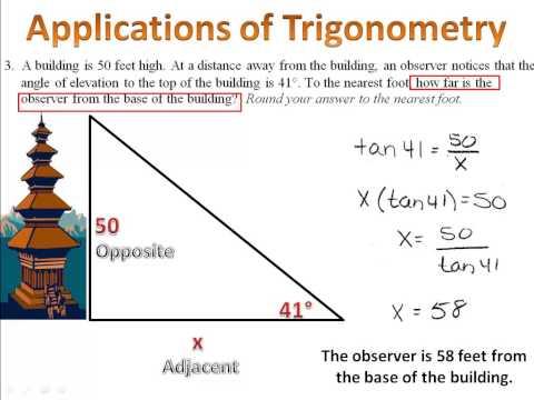 Trigonometry - Applications