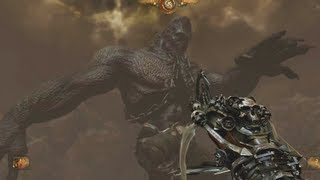 Painkiller Hell and Damnation Gameplay boss fight