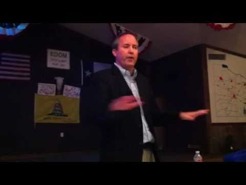Resolute Media Group covers Edom Tea Party, Surprise guest Rep. Ken Paxton