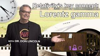 Relativity's key concept: Lorentz gamma