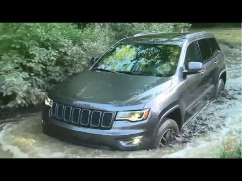 2017 jeep grand cherokee trailhawk 4x4 test drive video review - youtube
