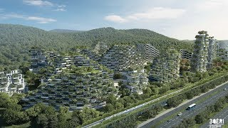 China's Forest City - Futuristic City with over 1 Million Plants