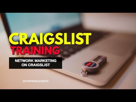 How to get leads using Craigslist- Network Marketing