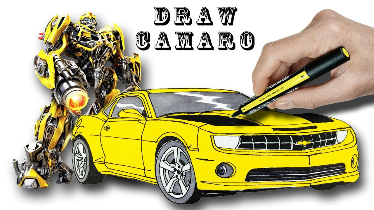 Bumblebee Chevrolet Camaro Drawing And Coloring Bumblebee